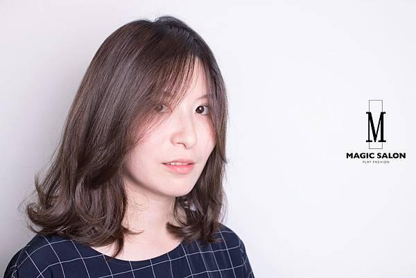 台北東區剪髮染髮燙髮推薦小隆作品分享3