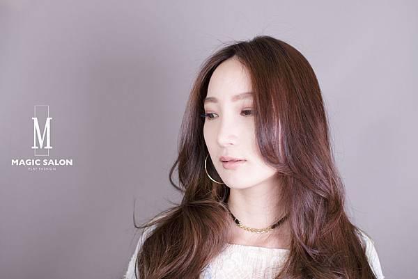 台北東區剪髮染髮燙髮推薦小隆作品1