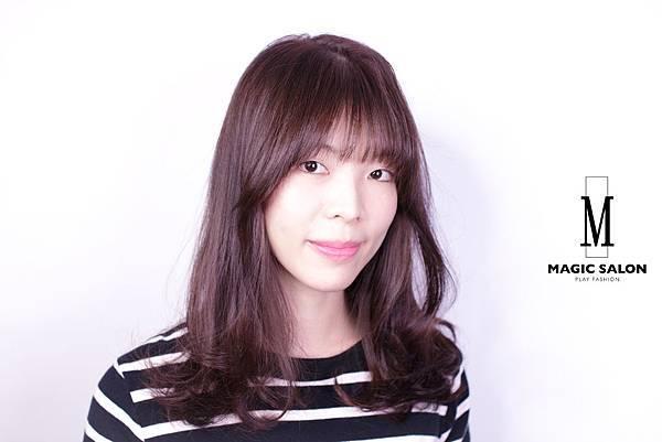 台北東區剪髮染髮燙髮推薦小隆作品2