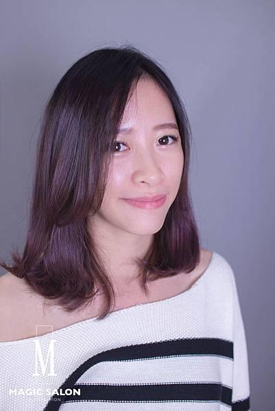 台北東區剪髮染髮燙髮推薦魔髮小隆作品分享8
