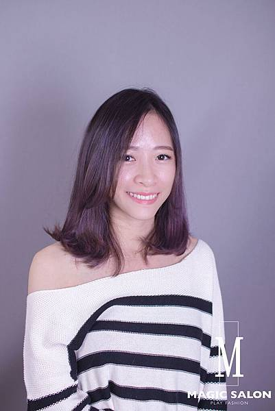 台北東區剪髮染髮燙髮推薦魔髮小隆作品分享0
