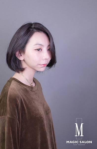 台北東區剪髮染髮燙髮推薦小隆作品6