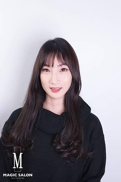 台北東區剪髮染髮燙髮推薦小隆作品分享1
