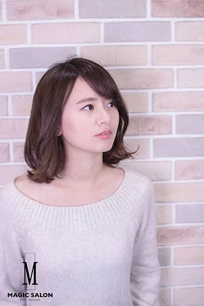 台北東區剪髮染髮燙髮推薦魔髮小隆作品分享3