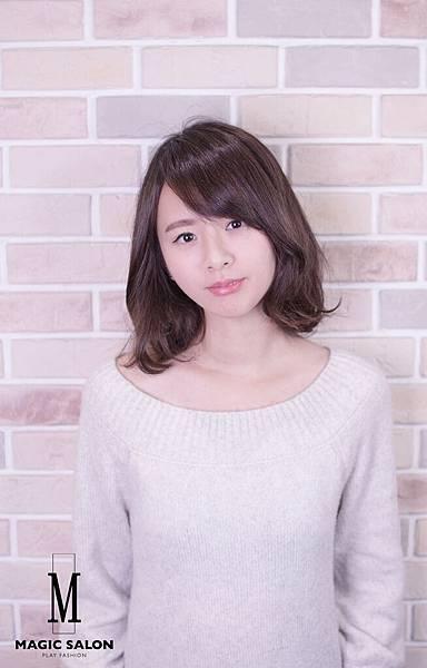 台北東區剪髪染髮燙髮推薦魔髮小隆作品0129