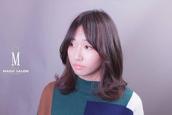 台北東區剪髮染髮燙髮推薦魔髮小隆作品分享1