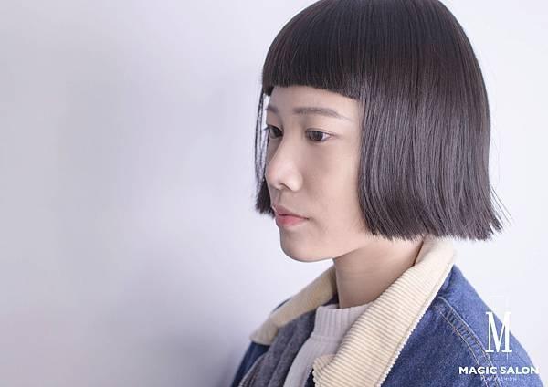 露眉短瀏海2017今夏流行髮型 剪髮燙髮染髮