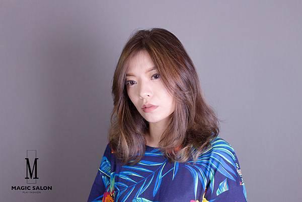 台北東區髮型設計師魔髮小隆推薦剪髮染髮燙髮作品分享