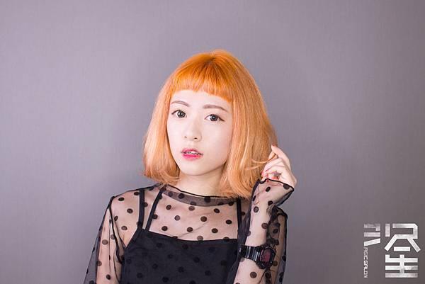 台北東區髮型師魔髮小隆剪髮染髮燙髮作品推薦分享