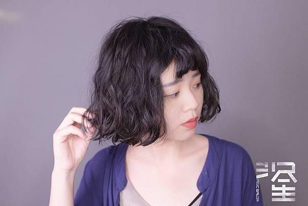 台北東區髮型設計師魔髮小隆剪髮燙髮推薦作品分享