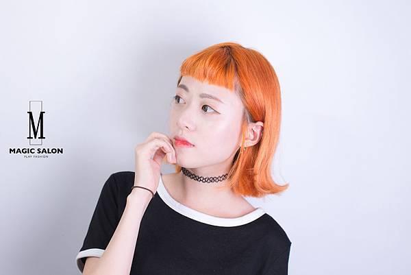 台北東區剪髮染髮推薦設計師魔髪小隆5