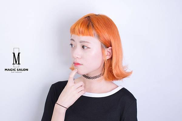 台北東區剪髮染髮推薦設計師魔髪小隆3