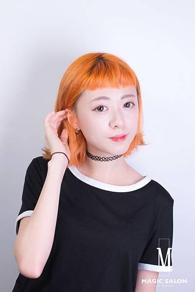 台北東區剪髮染髮推薦設計師魔髪小隆4