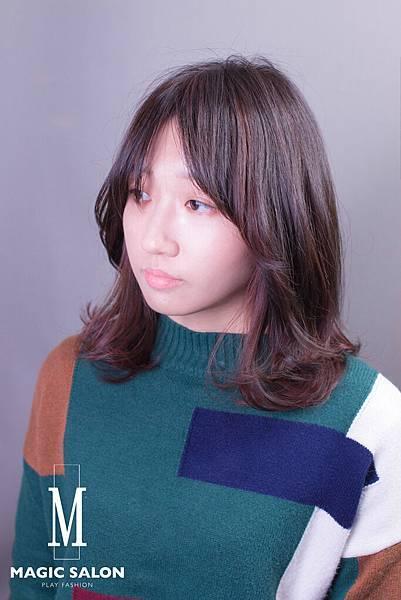 台北東區剪髮染髮燙髮推薦魔髮小隆作品分享30
