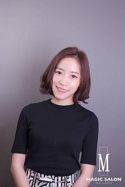 短髮 韓國 潤娥