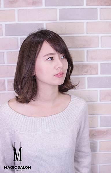 台北東區剪髮染髮燙髮推薦魔髮小隆作品分享33