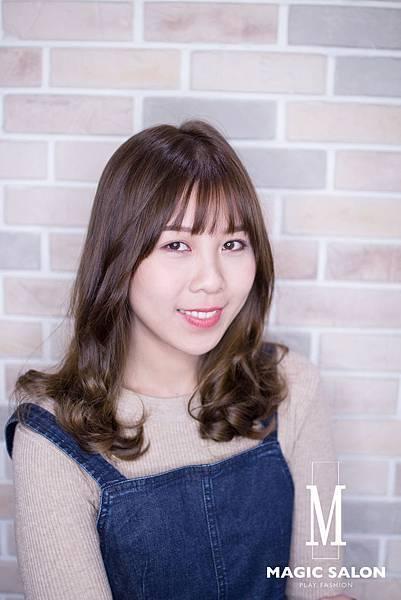 台北東區髮型設計師 染髮