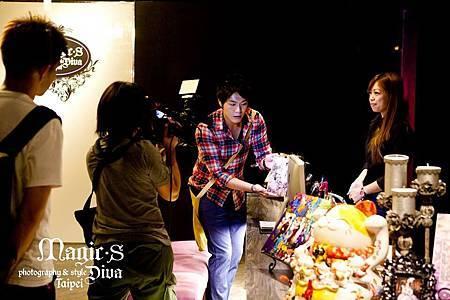 日本富士電視台採訪