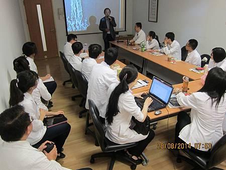 慈濟醫院中醫部邀請溫崇凱中醫師演講3