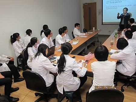 慈濟醫院中醫部邀請溫崇凱中醫師演講2