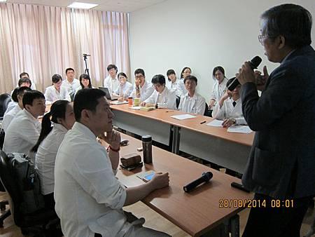 慈濟醫院中醫部邀請溫崇凱中醫師演講