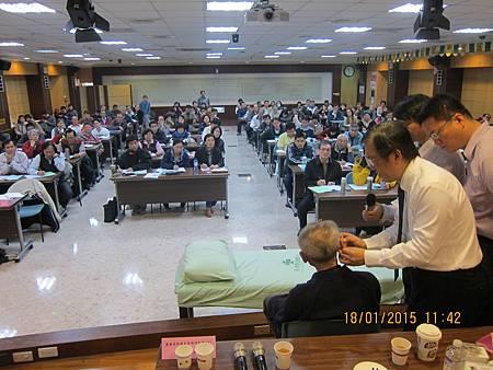 溫崇凱中醫師台南市中醫師公會針灸教學耳針