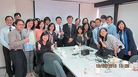 和潤和運企業總部樂活社邀請溫崇凱中醫師演講