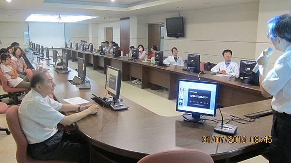 中興醫院邀請溫崇凱中醫師針灸講課