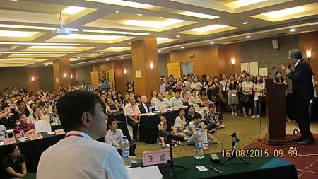 溫崇凱中醫師受邀中國針灸學會年會演講