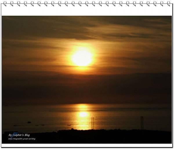 碼頭夕陽5