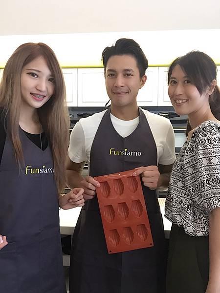 讓你對手作充滿自信,Funsiamo自助烘焙體驗!