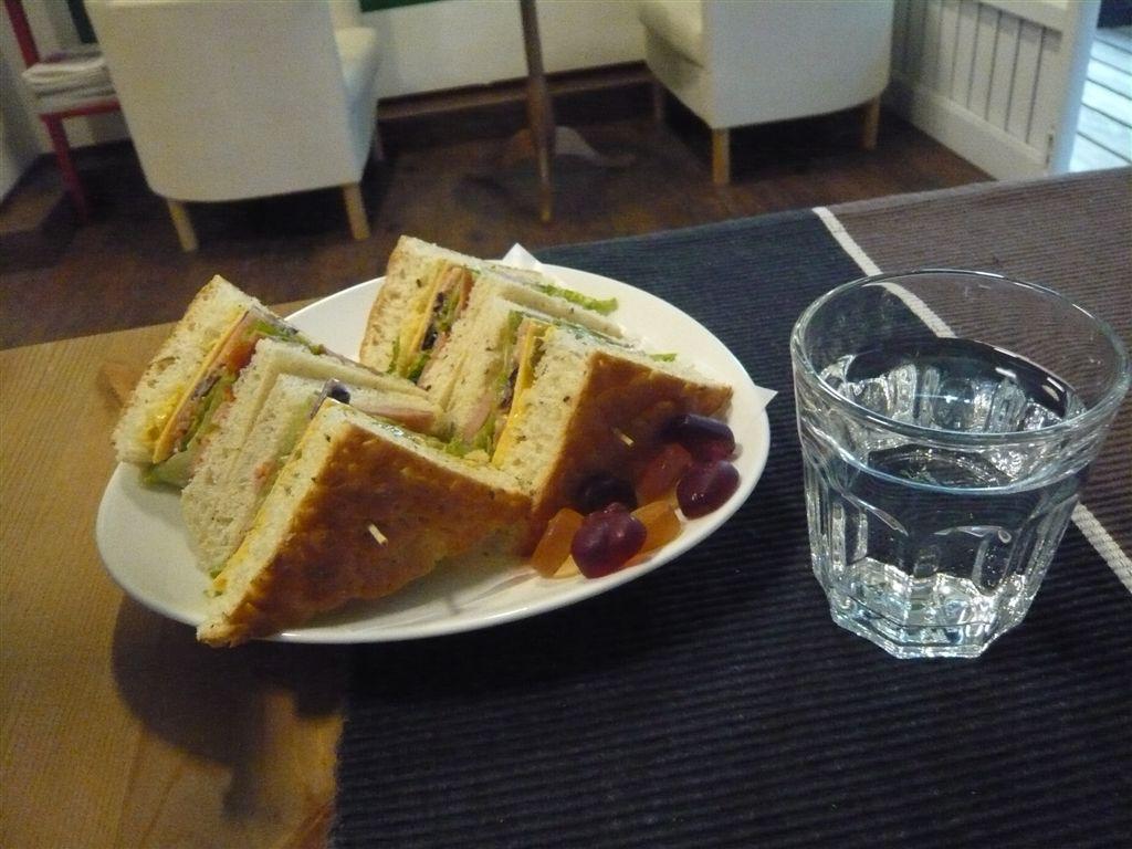 義式三明治 希臘香腸口味