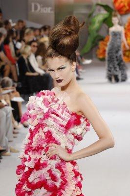 Christian Dior Haute Couture F/W 2010:Alla Kostromichova