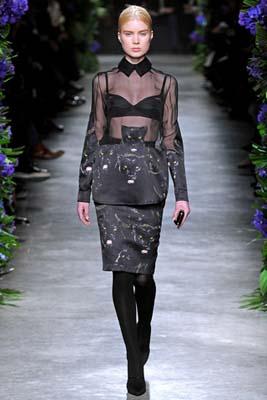 Givenchy F/W 2011 - Elsa Sylvan