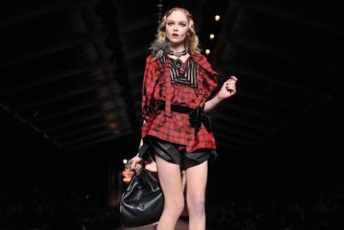 Christian Dior F/W 2011 - Siri Tollerod