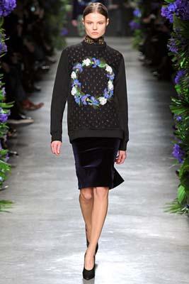 Givenchy F/W 2011 - Magdalena Frackowiak