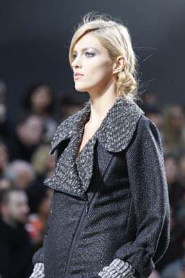 Chanel F/W 2011 - Anja Rubik