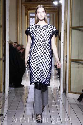 Balenciaga F/W 2011 - Mirte Maas