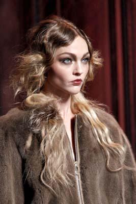 Christian Dior F/W 2011 - Sasha Pivovarova