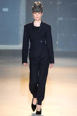 Rochas F/W 2011 - Caroline Brasch Nielsen