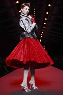 Christian Dior Haute Couture S/S 2011 - Angela Lindvall