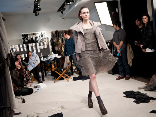 First Look:Vera Wang F/W 2011