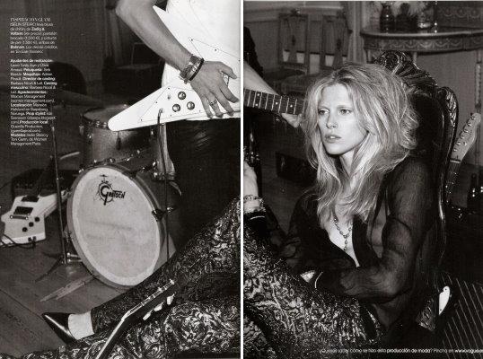 Vogue España November 2010:Iselin Steiro