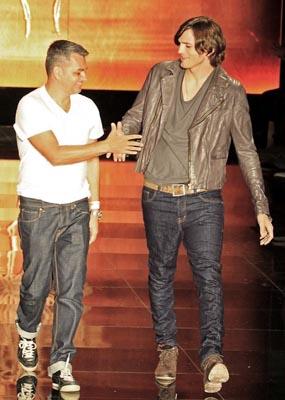 Colcci F/W 2011 - Jeziel Moraes & Ashton Kutcher
