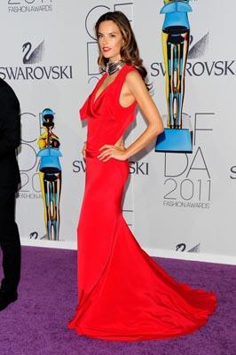 2011 CFDA Fashio Awards - Alessandra Ambrosio