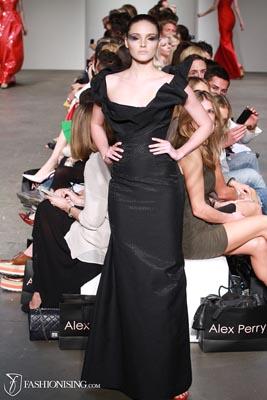 Alex Perry S/S 2011/12 - Amanda Ware