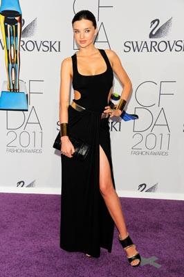 2011 CFDA Fashio Awards - Miranda Kerr