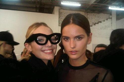 Givenchy F/W 2011 - Candice Swanepoel,Izabel Goulart
