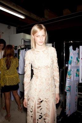 Zimmermann S/S 2011/12 - Julia Nobis