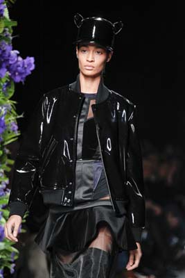 Givenchy F/W 2011 - Joan Smalls